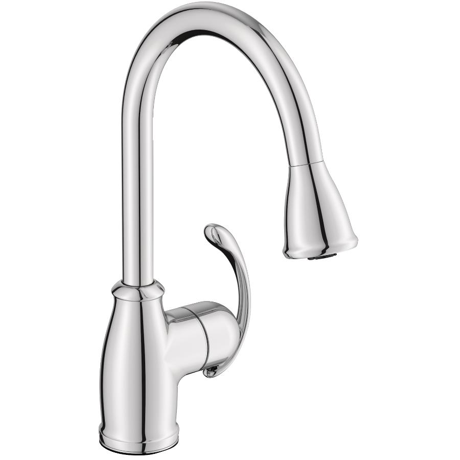 Moen Terrace Chrome Pulldown Kitchen Faucet