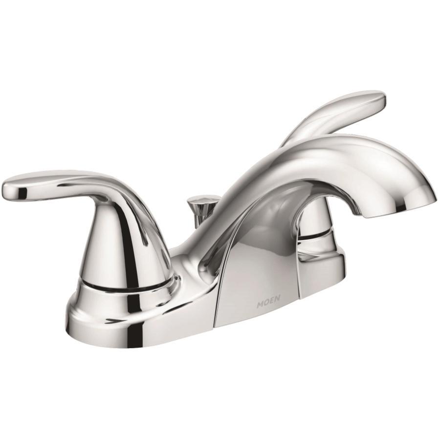 Moen: Adler Two Lever Chrome Lavatory Faucet