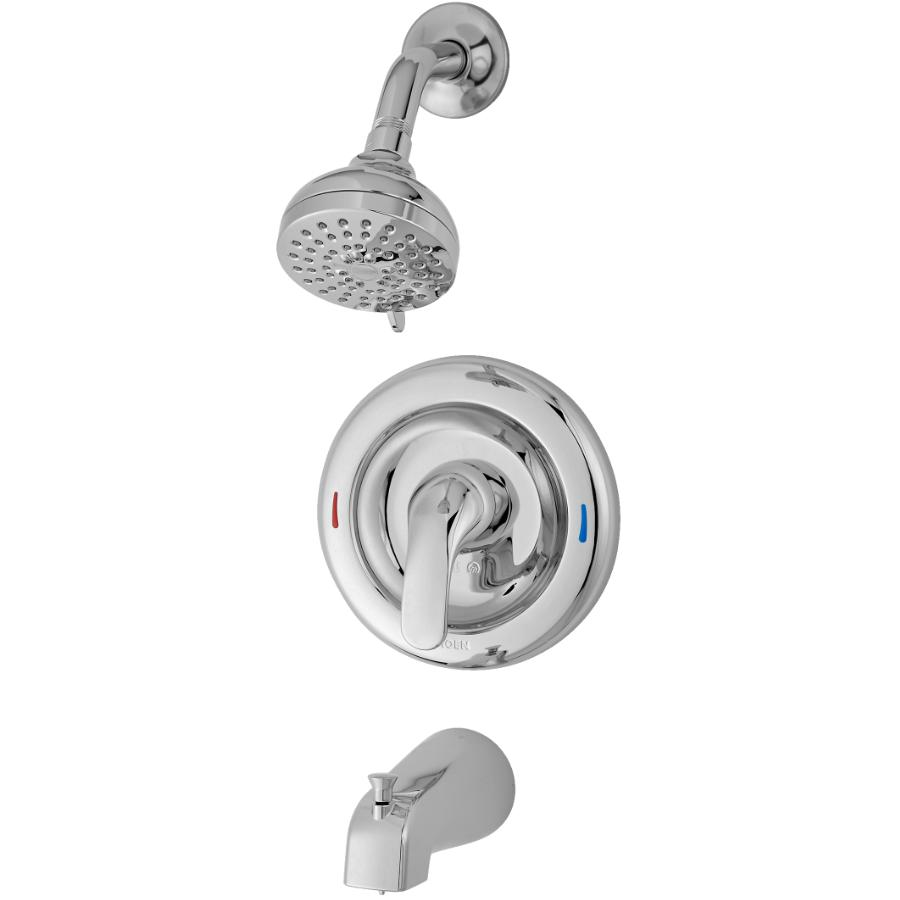 Moen Adler Chrome Pressure Balance Tub and Shower Faucet
