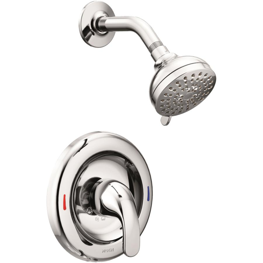 Moen Chrome Pressure Balance Single Lever Shower Faucet