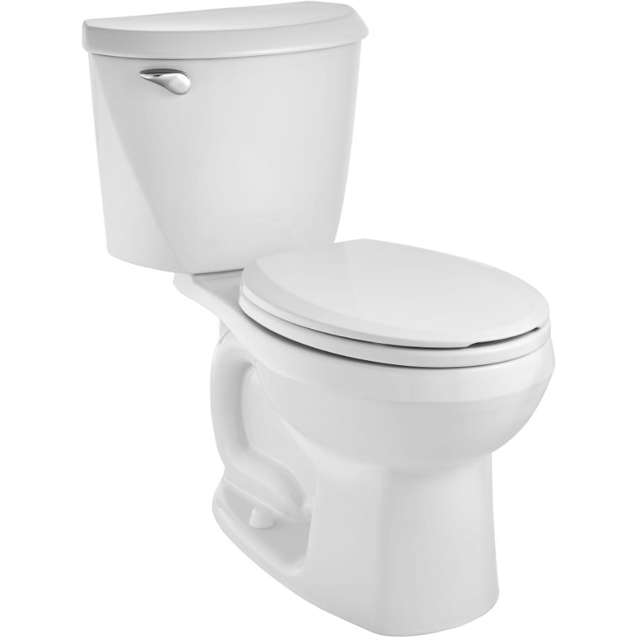 American Standard Reliant 4.8L White Round Toilet