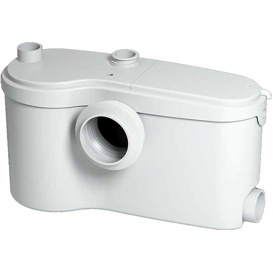Saniflo Sanibest Pro 4 8l White Lined Round Bowl Toilet