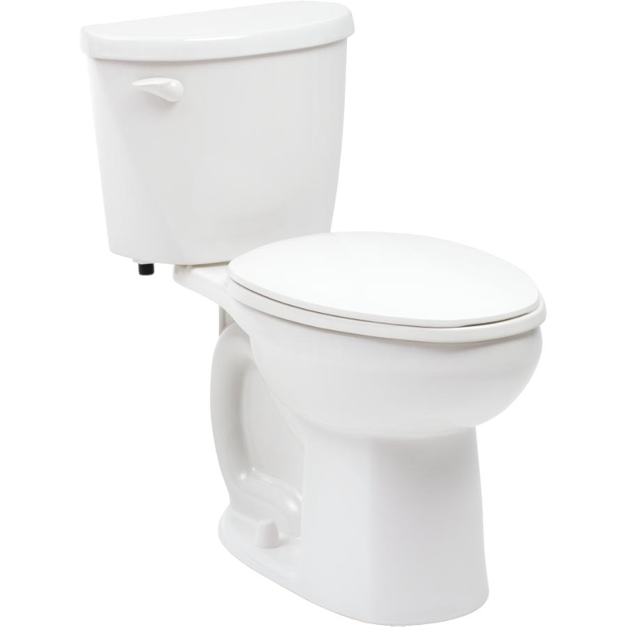 "American Standard Evolution2 16-1/2"" 6L White Lined Elongated Toilet"