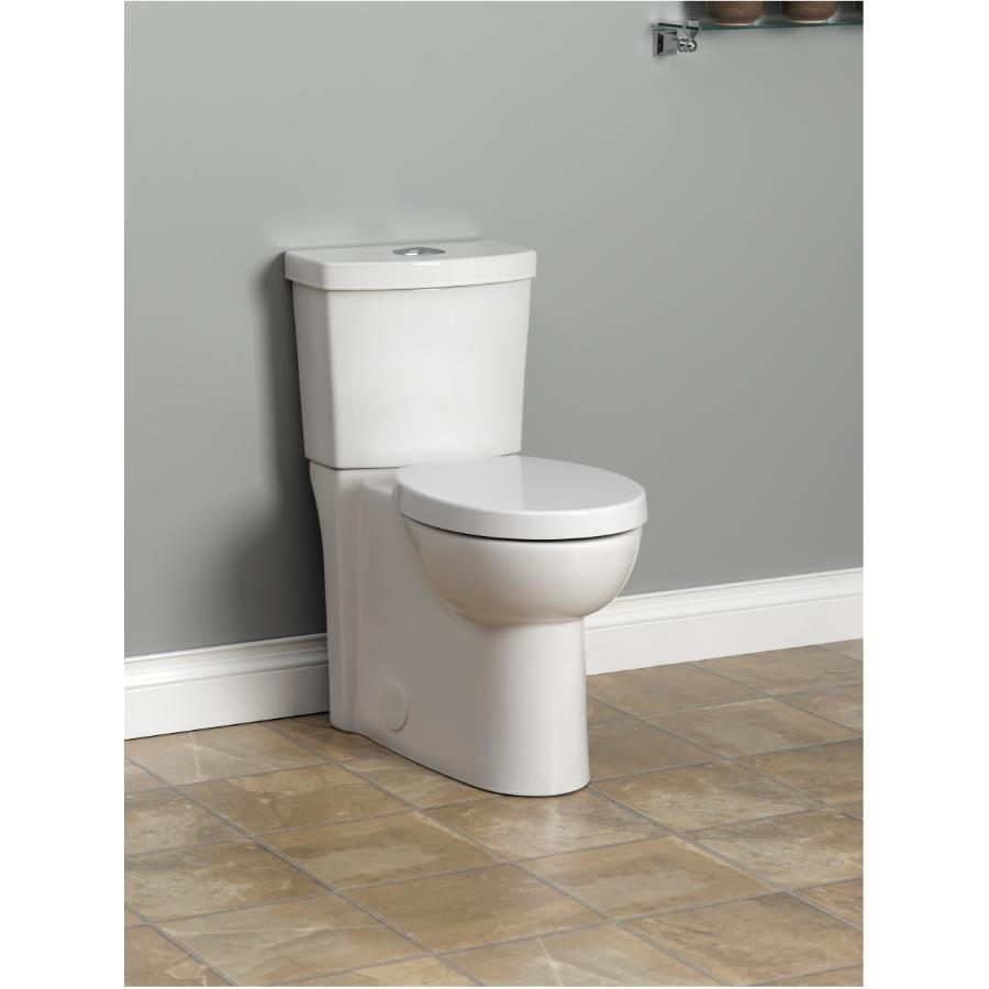 American Standard White 16 1 2 Quot Studio Dual Flush Round