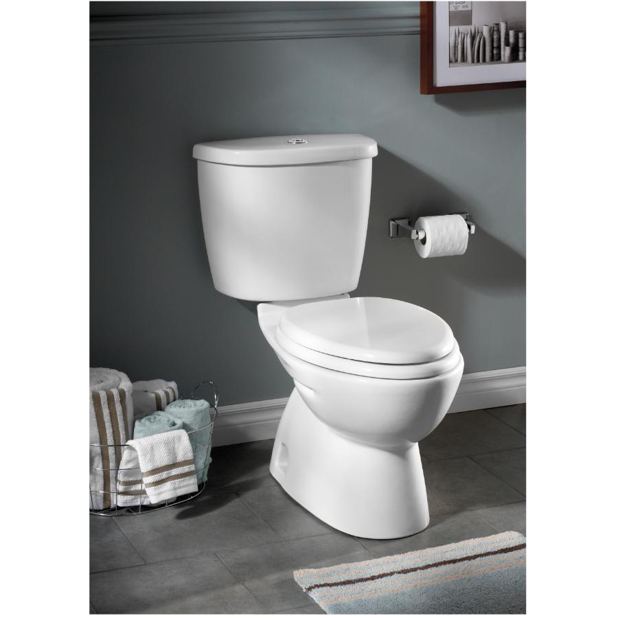 American Standard Flowise Dual Flush Lined Elongated