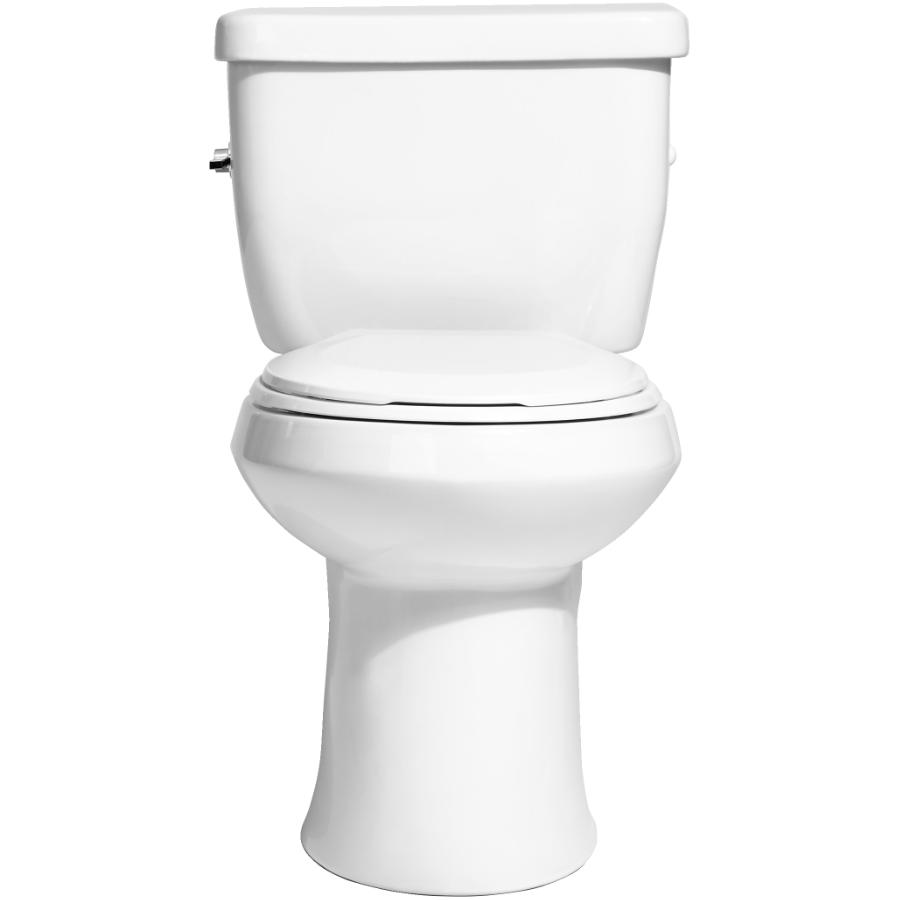 "Niagara Conservation 15.5"" Niagara 4.8L 2 Piece White Flapperless Toilet"