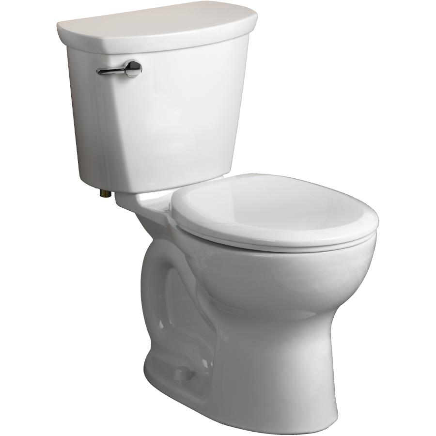 "American Standard: 16.5"" Cadet Pro 4.8L White Right Height Round Bowl Toilet"