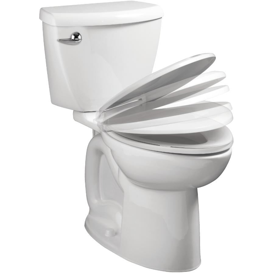 """American Standard: Ravenna 6L 16.5"""" White Right Height Elongated 2 Piece Toilet in a Box with Slow Close Seat"""