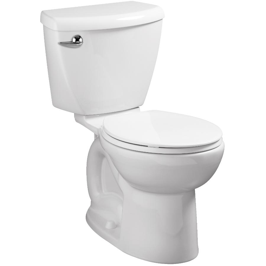 American Standard Ravenna 6L White Round 2 Piece Toilet in a Box with Slow Close Seat