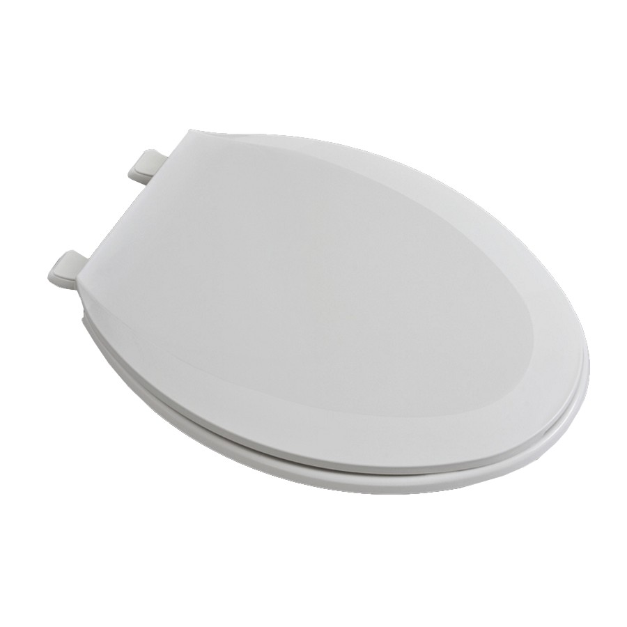 Peter Anthony Standard White Plastic Elongated Toilet Seat