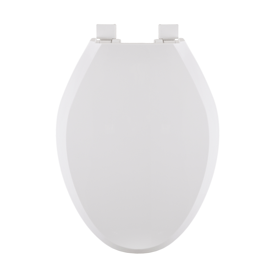 Peter Anthony: White Plastic Slow Close Elongated Toilet Seat
