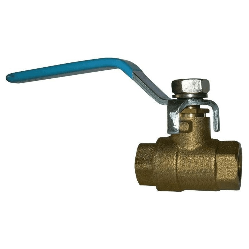 "Home Plumber 1/2"" IPS Brass Ball Valve"