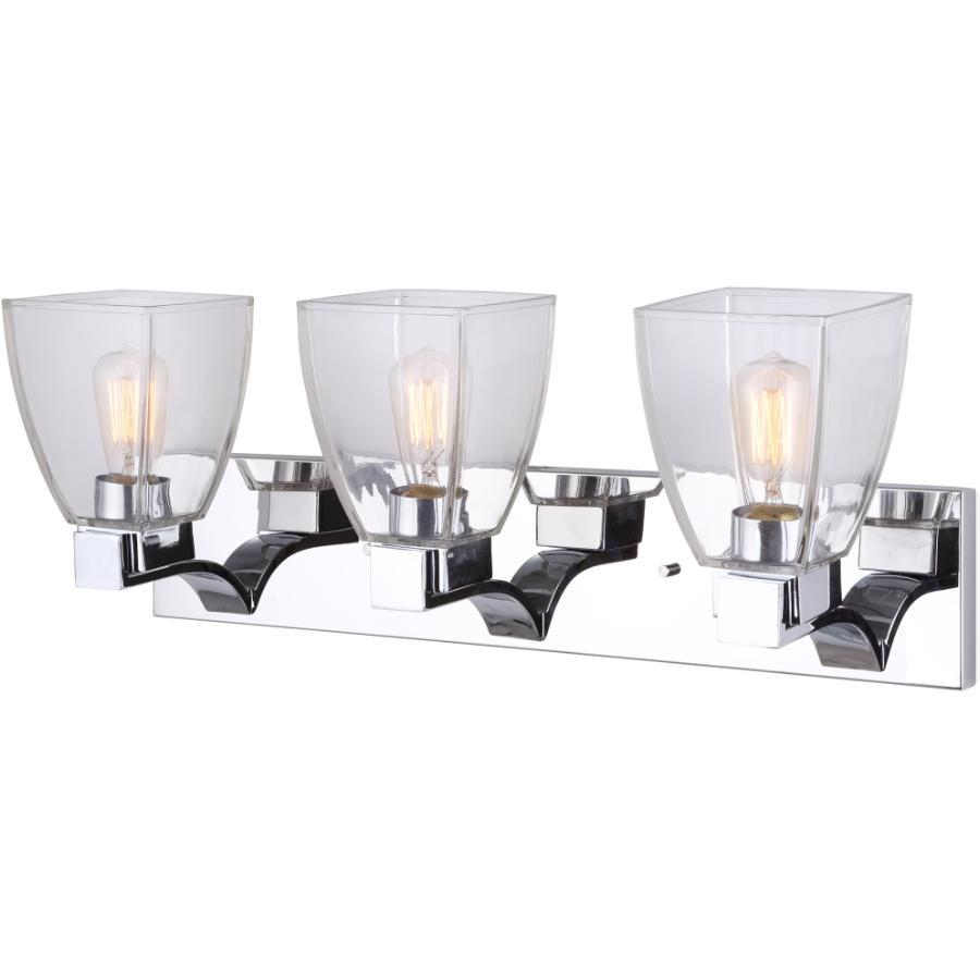 Canarm Empire 3 Light Chrome Vanity Light Fixture