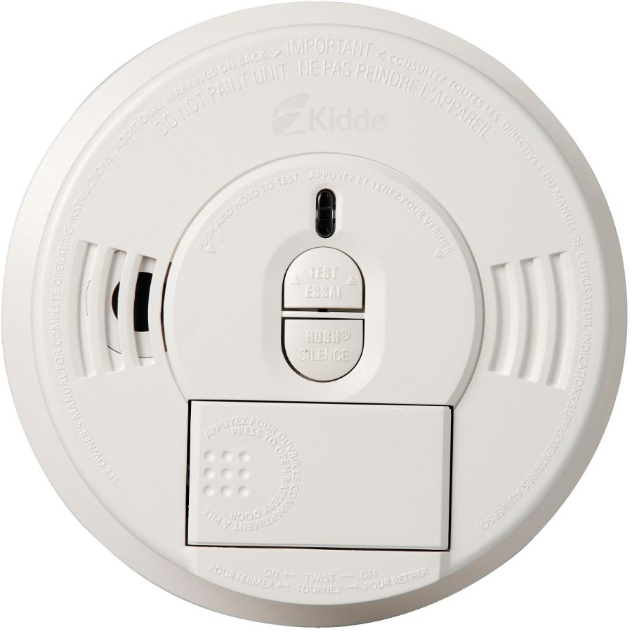 KIDDE Battery Operated Front Load Smoke Detector, with Hush Button