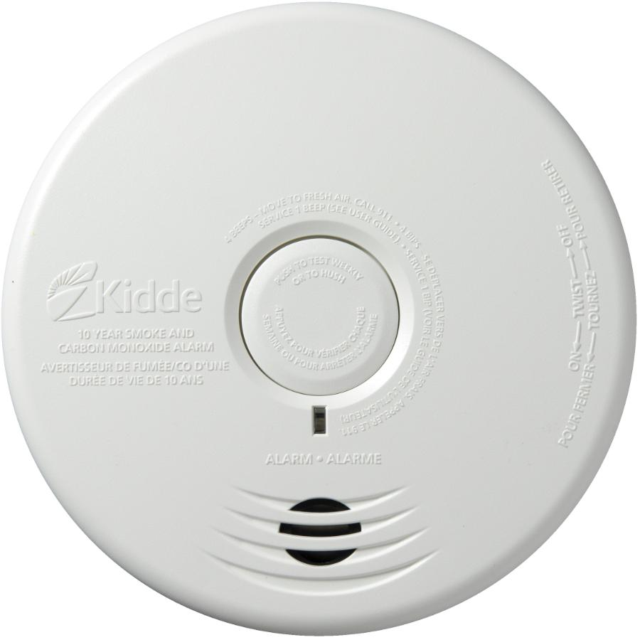 Kidde: 10 Year Battery Operated Smoke and Carbon Monoxide Detector