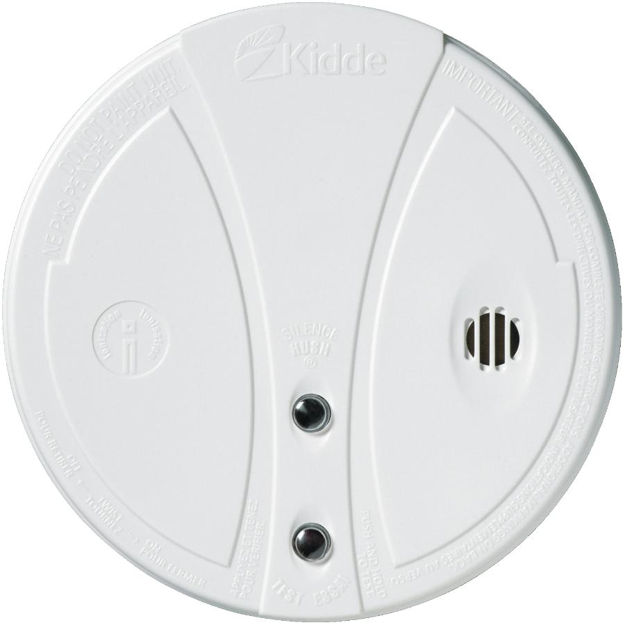 KIDDE Battery Operated Smoke Detector, with Hush Button