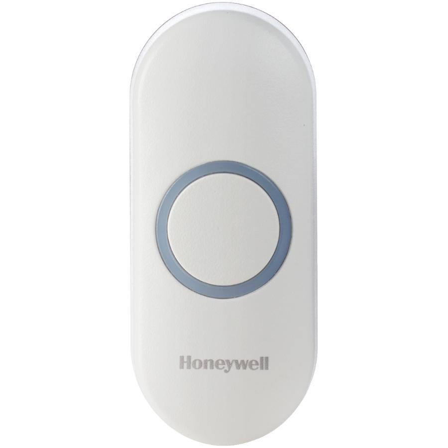 Honeywell White Wireless Doorbell Push Button