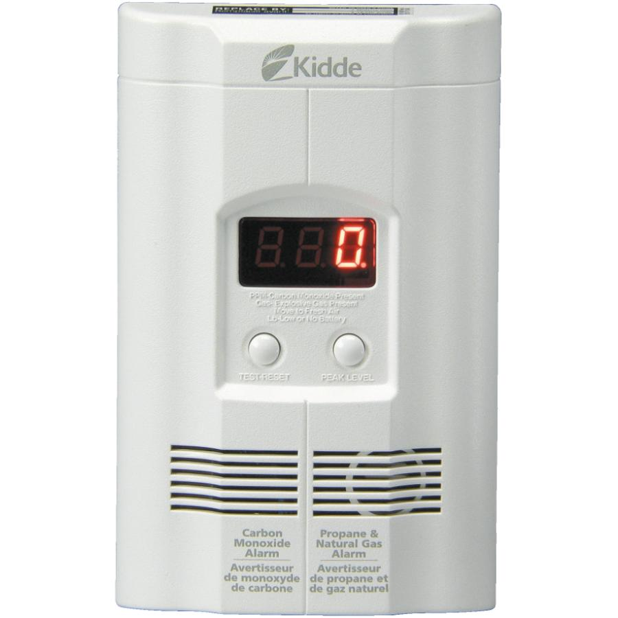 Kidde Plug-In Carbon Monoxide, Propane and Natural Gas Detector, with Battery Back-Up