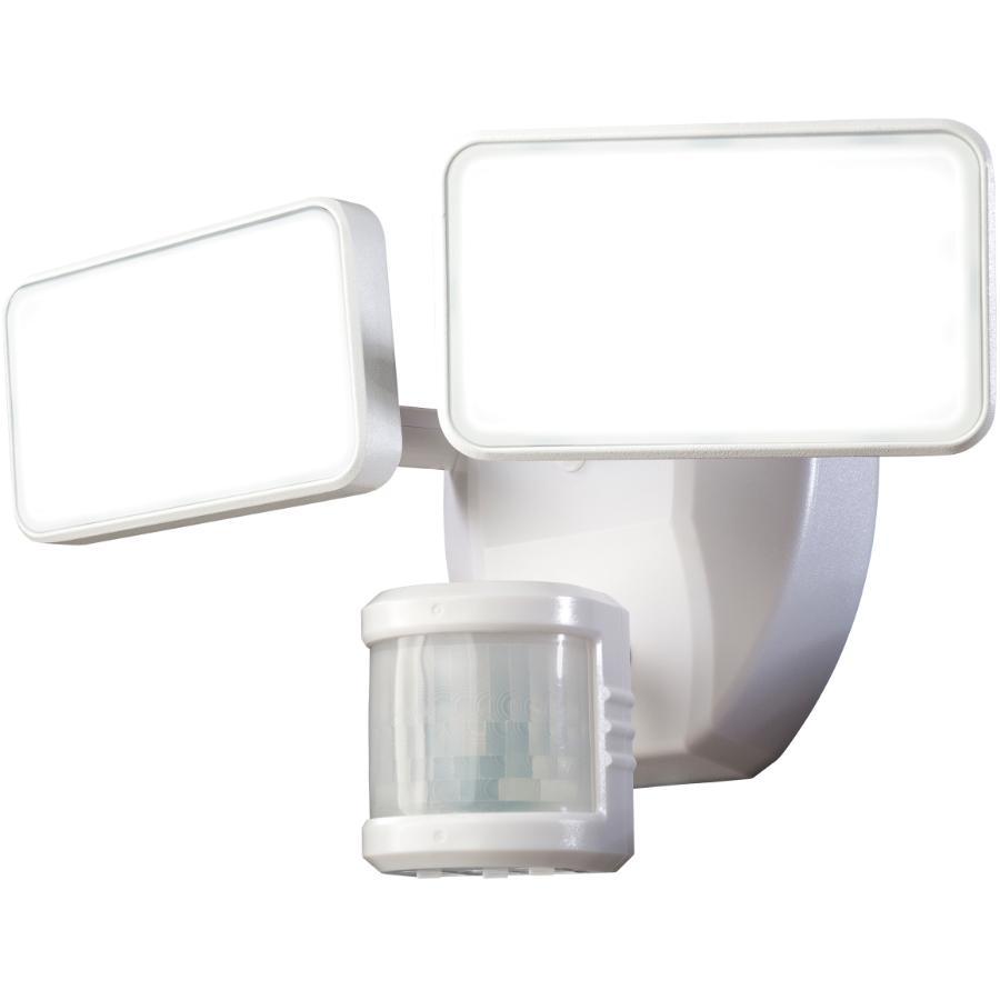 HEATH/ZENITH White Dualbrite 180 Degree 2 LED Light Motion Detector Security Light