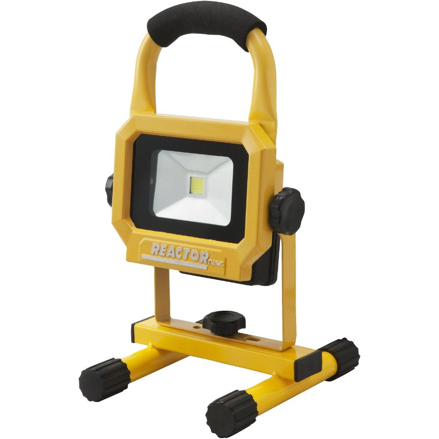 Reactor 10 Watt LED Work Light with Basic Portable Stand