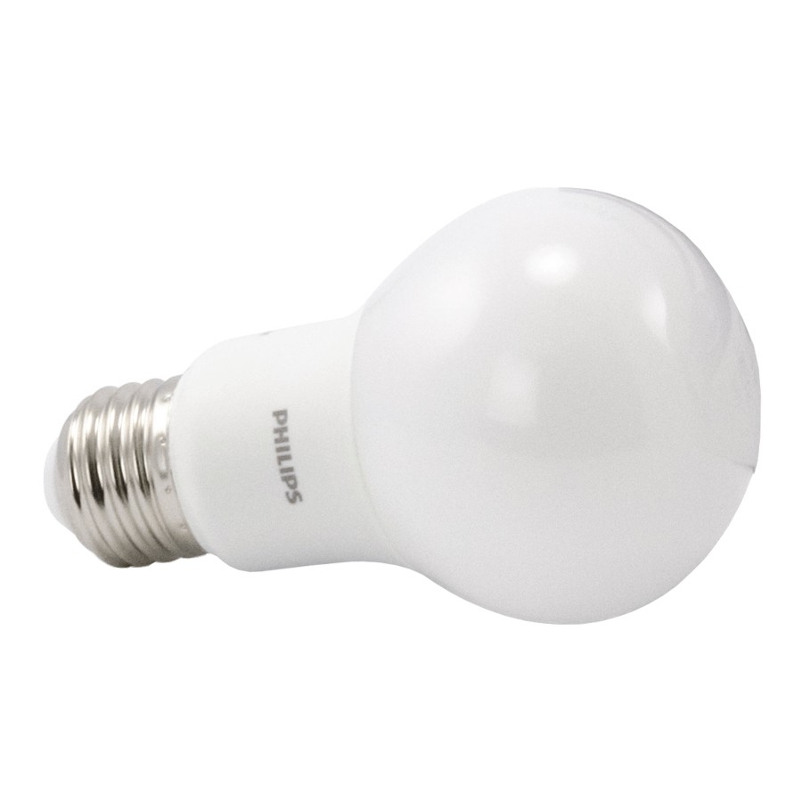 PHILIPS 6 Pack 8W A19 Medium Base Daylight Non-Dimmable LED Light Bulbs