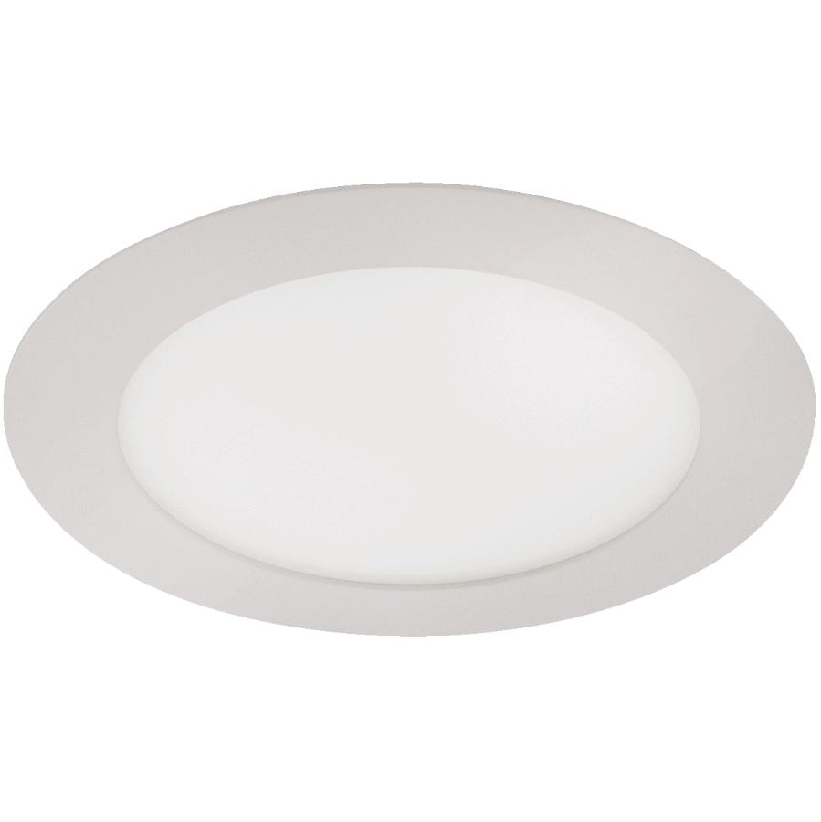 "Liteline 6"" Round 12W Dim to Warm Recessed White LED Light Fixture for Insulated Ceilings"