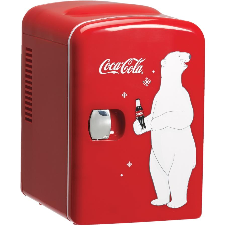 Koolatron 6 Can Coca-Cola Compact Fridge