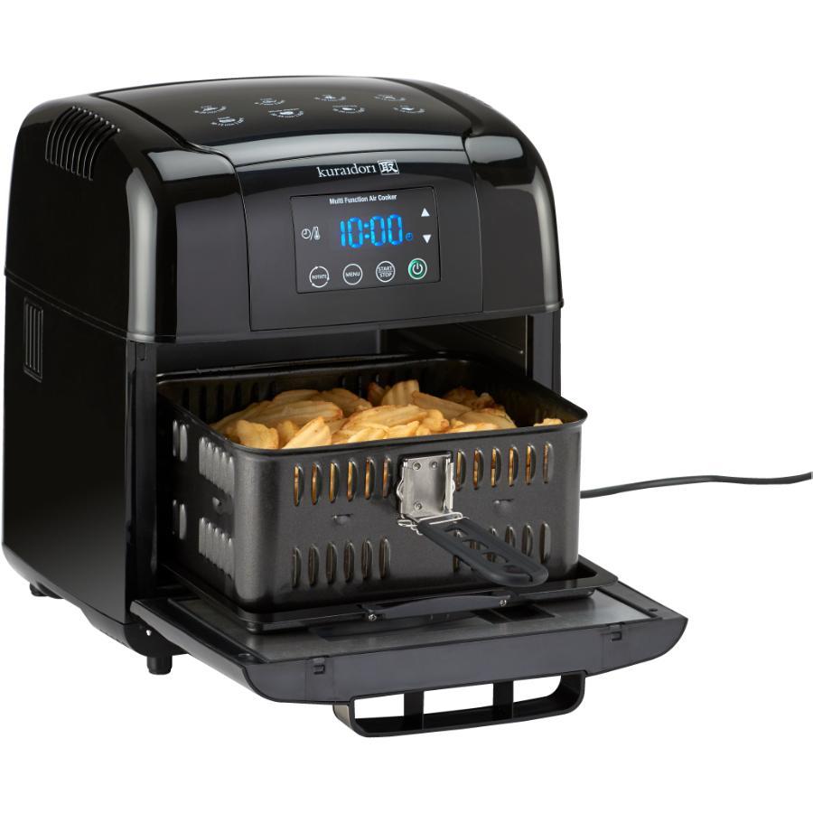 Kuraidori 1600 Watt 5.5L Digital Multifunction Air Cooker, with Timer