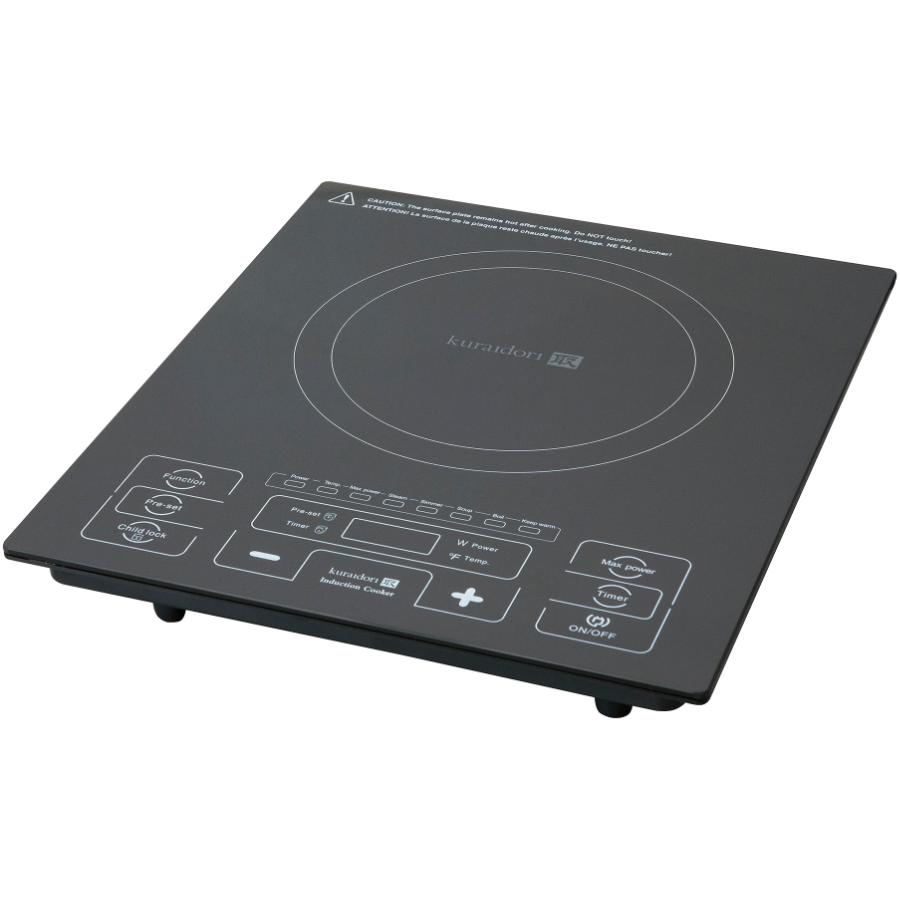 KURAIDORI 1800 Watt Smooth Top Single Burner Induction Cooker Refurbished