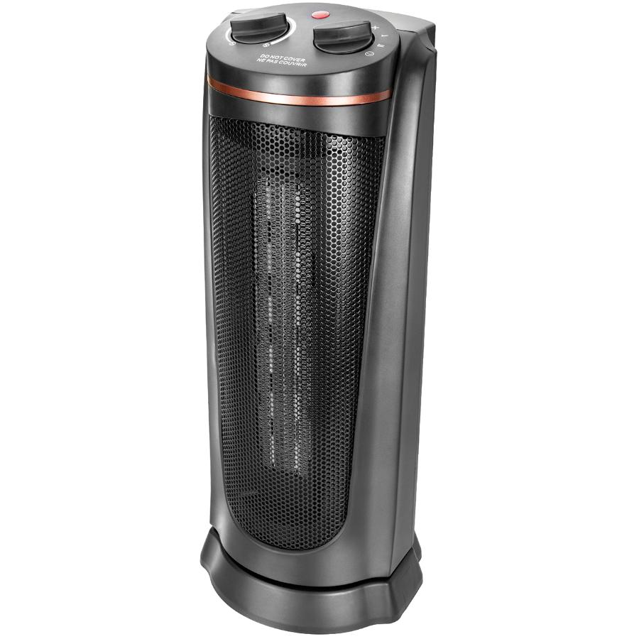 Classic 1500 W Oscillating Ceramic Tower Heater - 19""