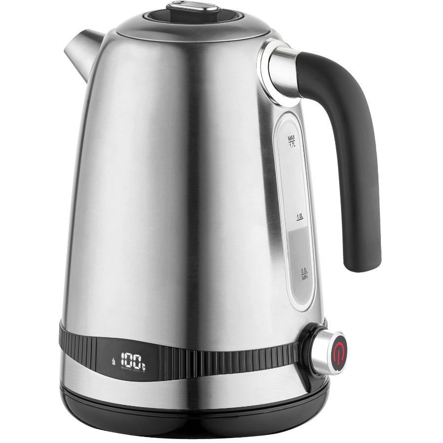 Salton Variable Temperature Kettle - Cordless + Stainless Steel, 1.7 L