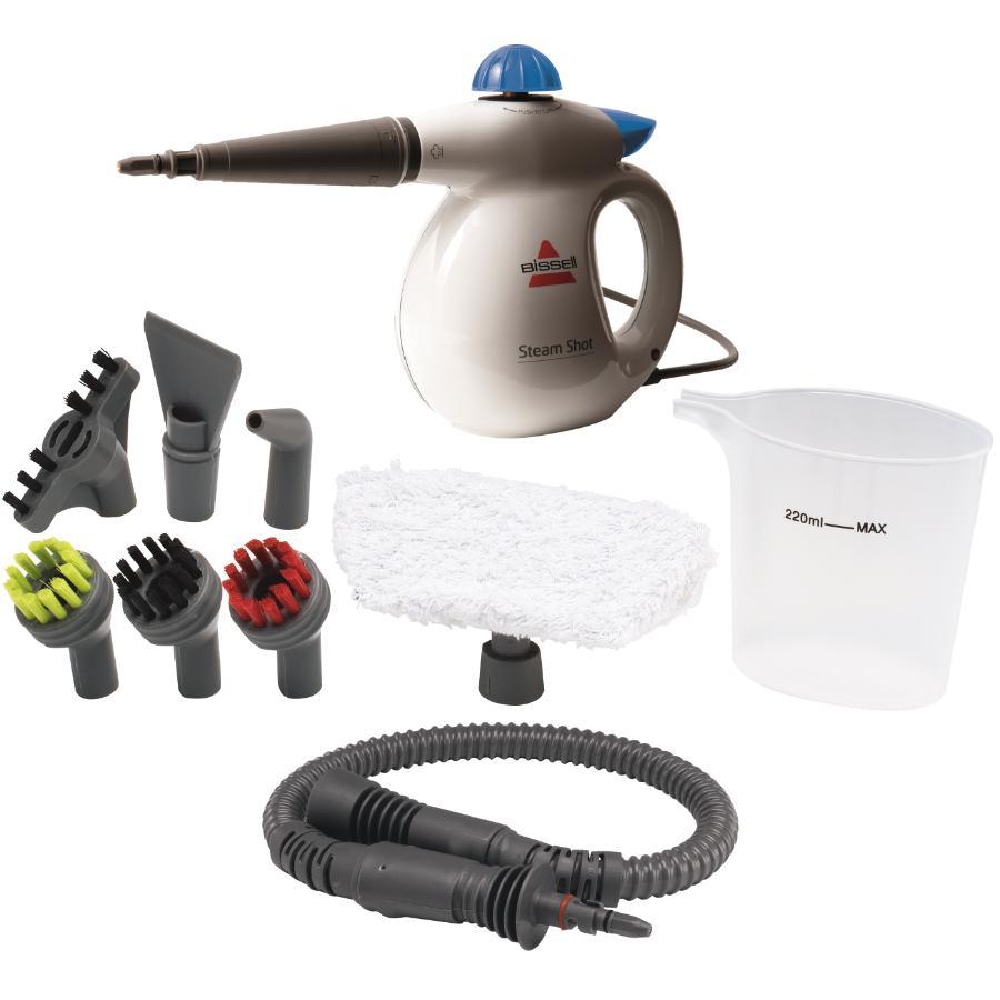 Bissell Steamshot Handheld Steamer, with Kit