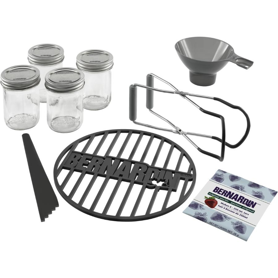 Bernardin Starter Canning Kit - 9 Piece Set