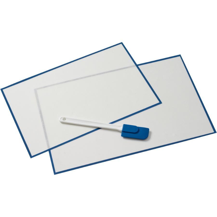 Kuraidori Select 3 Piece Silicone Baking Liner Set