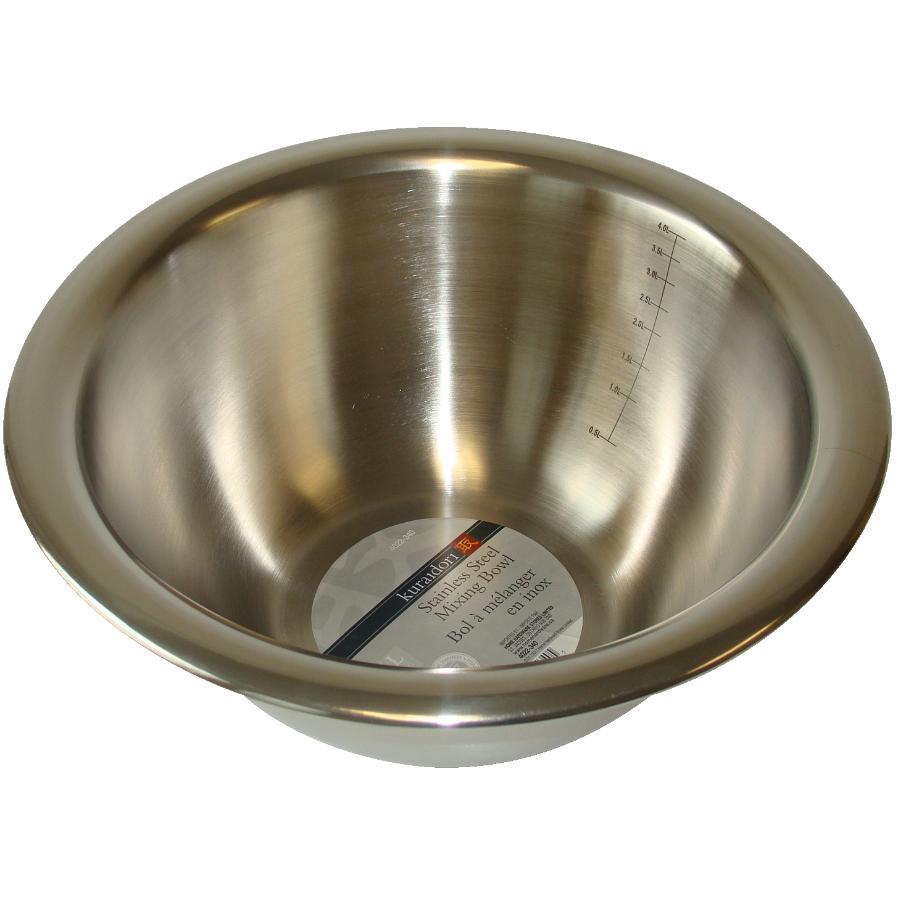 Kuraidori 5 Quart Deep Stainless Steel Mixing Bowl