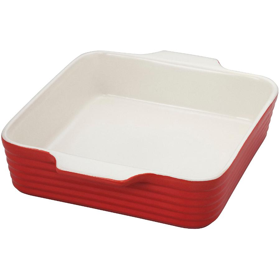 "KURAIDORI 8"" Red Square Baking Dish"