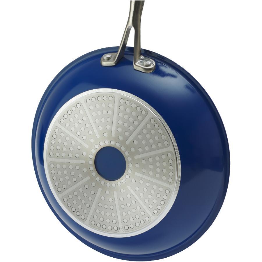 Kuraidori Select: 24cm Blue Ceramic Non Stick Frying Pan