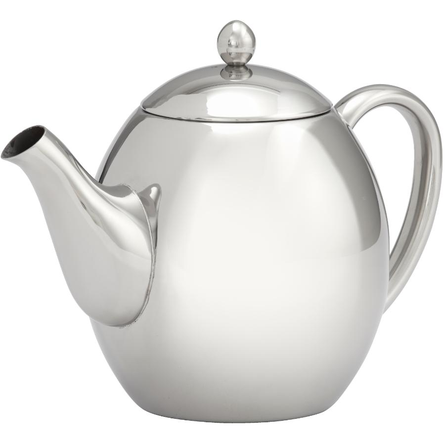 KURAIDORI 1.2L Stainless Steel Double Wall Teapot