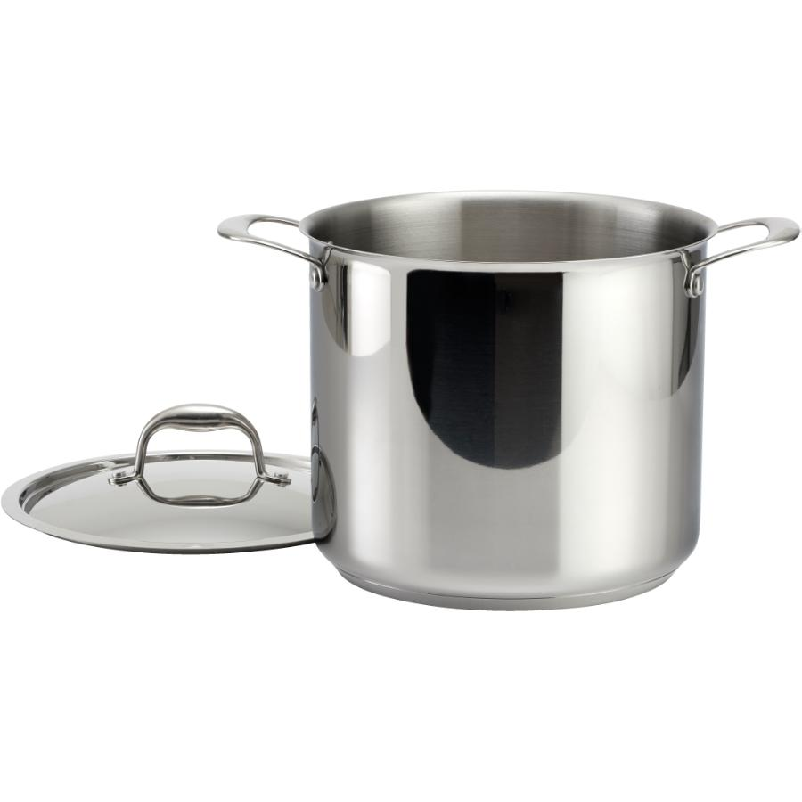 KURAIDORI SELECT 9.5 Quart Stainless Steel Saucepan, with Stainless Steel Lid