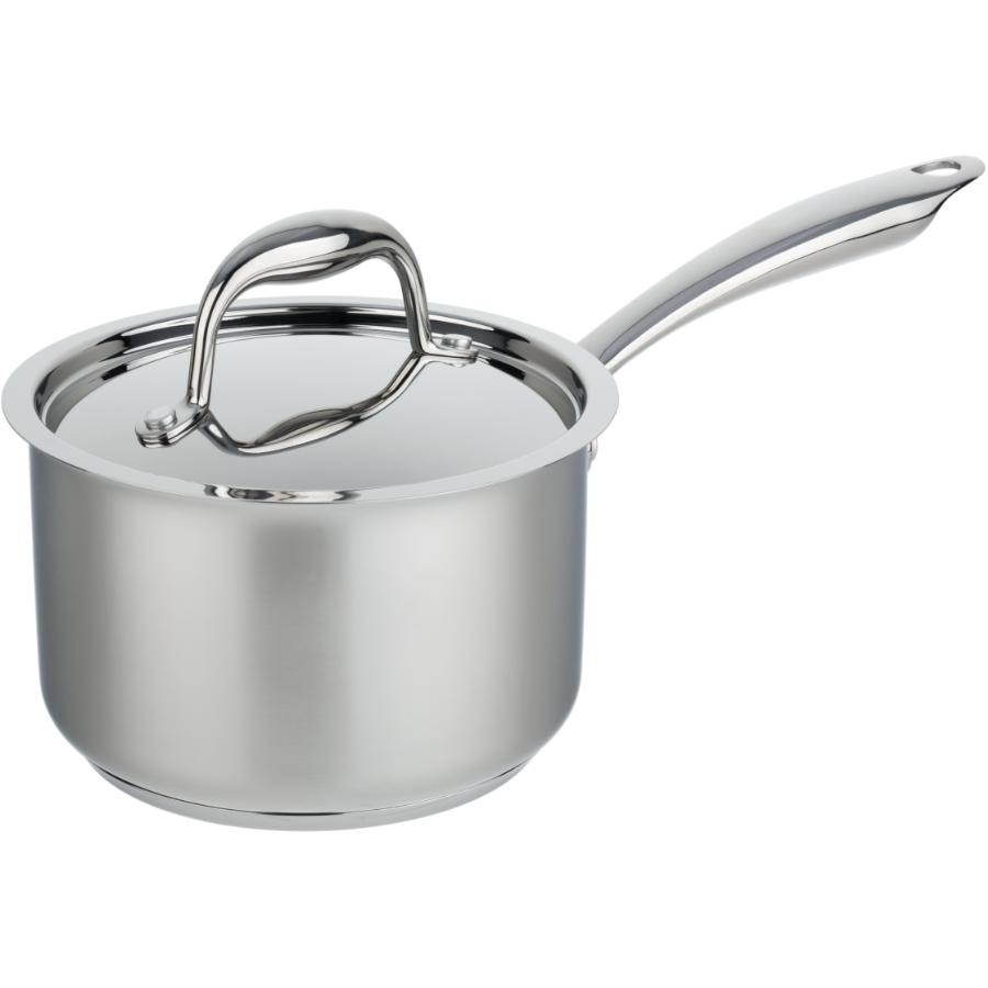 KURAIDORI SELECT 2.1 Quart Stainless Steel Saucepan, with Stainless Steel Lid