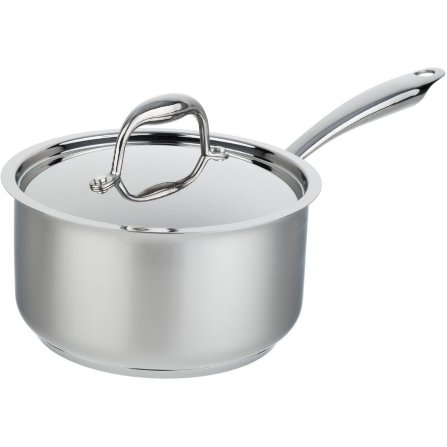 KURAIDORI SELECT 3.2 Quart Stainless Steel Saucepan, with Stainless Steel Lid