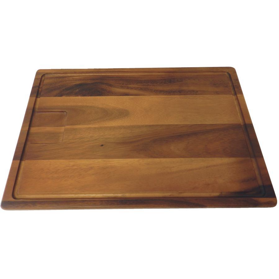 "Kuraidori 12"" x 18"" Wood Reversible Acacia Cutting Board"