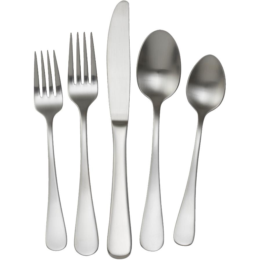 KURAIDORI 20 Piece Stainless Steel Imperial Flatware Set