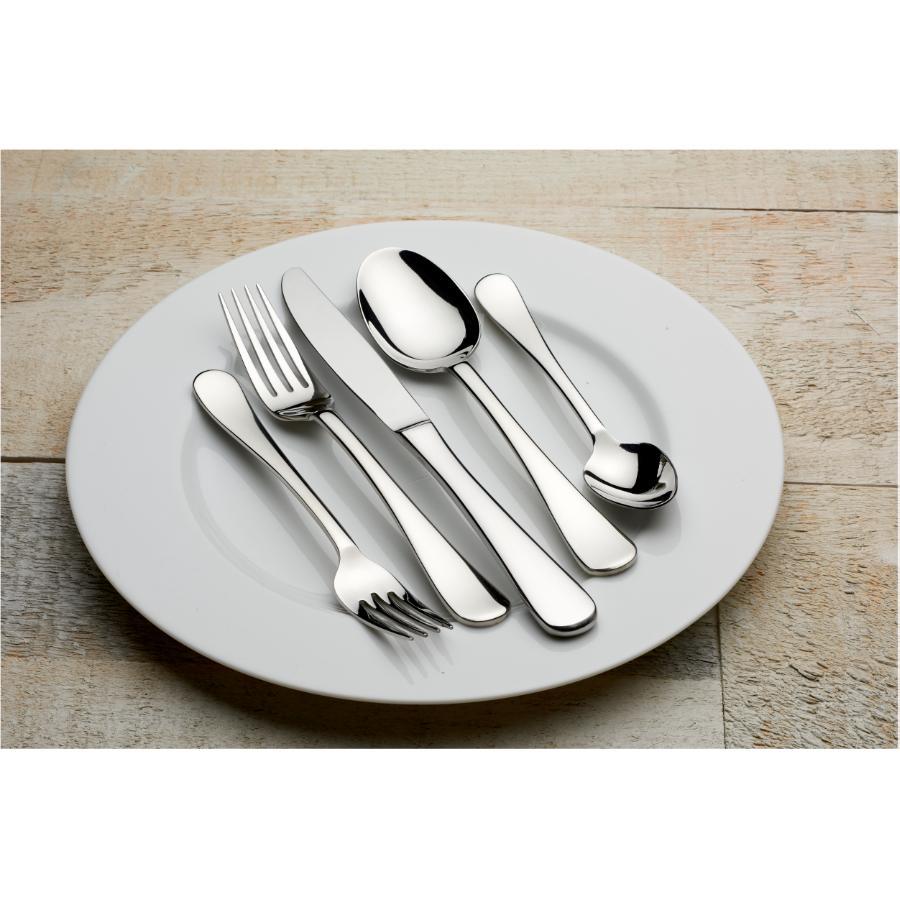 Kuraidori: 20 Piece Stainless Steel Sapporo Flatware Set