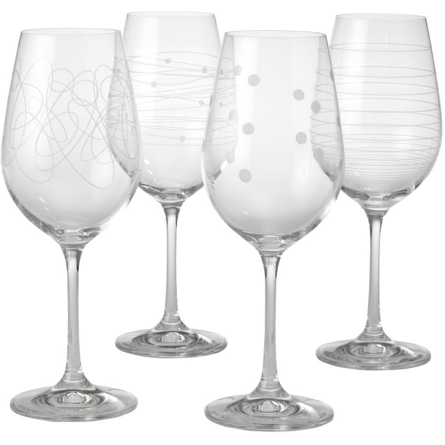 Kuraidori Select Swirl Wine Stemware Set - 450 ml, 4 Pack