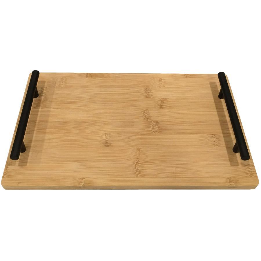 "Kuraidori Select 13.78"" x 7.87"" Bamboo Serving Tray"