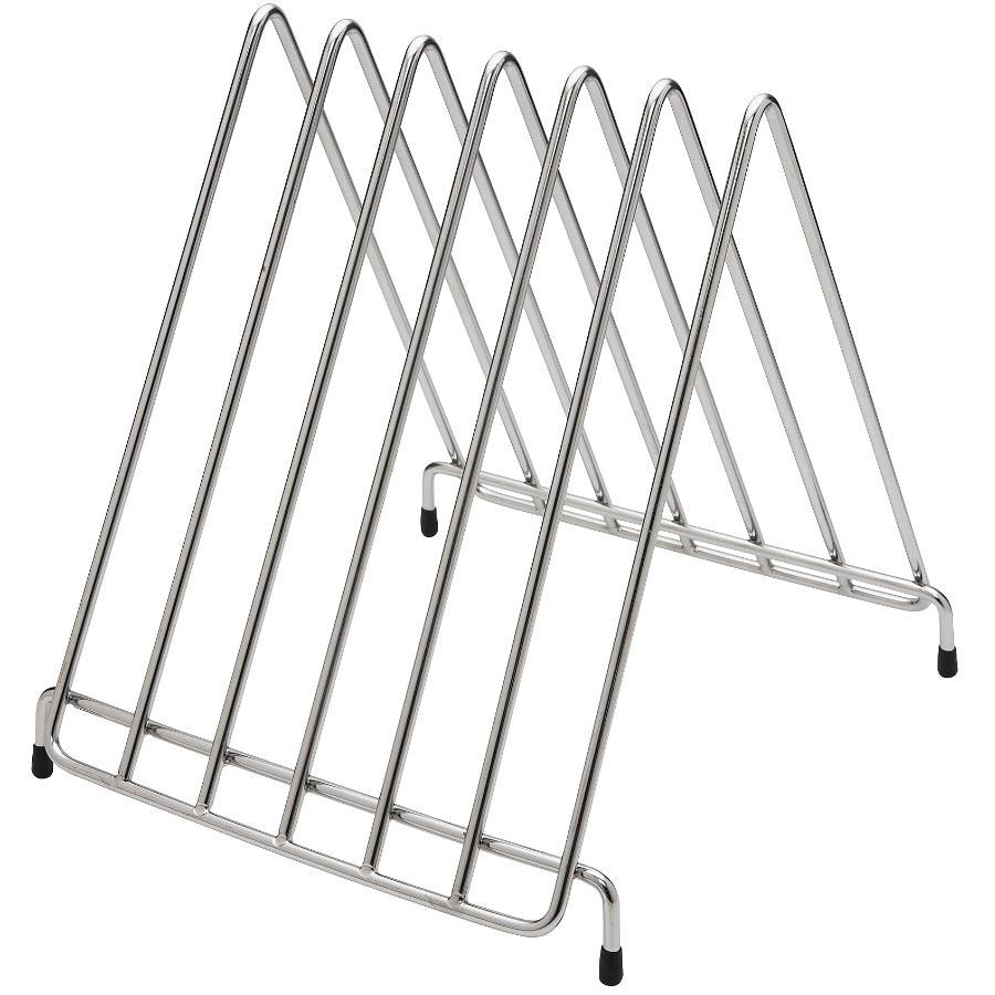 Kuraidori Stainless Steel Cutting Board/Tray Rack Organizer