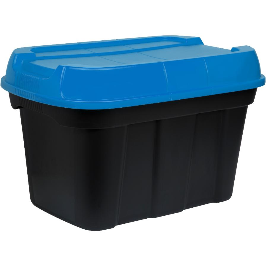 Tuffstore 40L Black/Blue Hi-Top Storage Box