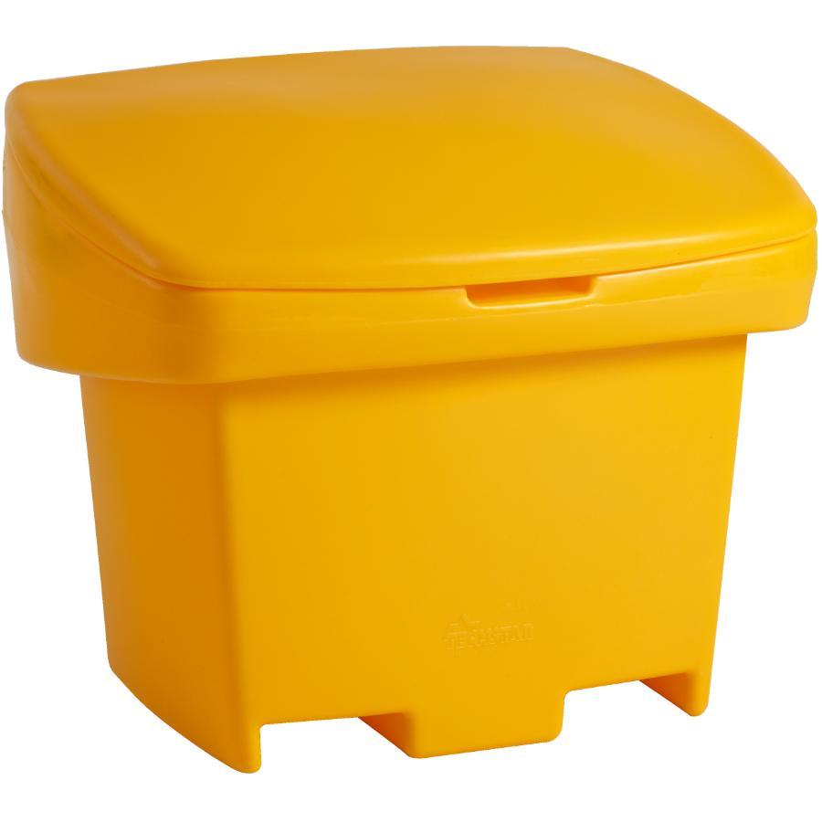ADVANTAGE 5.5 Cu.Ft. Yellow Plastic Bin