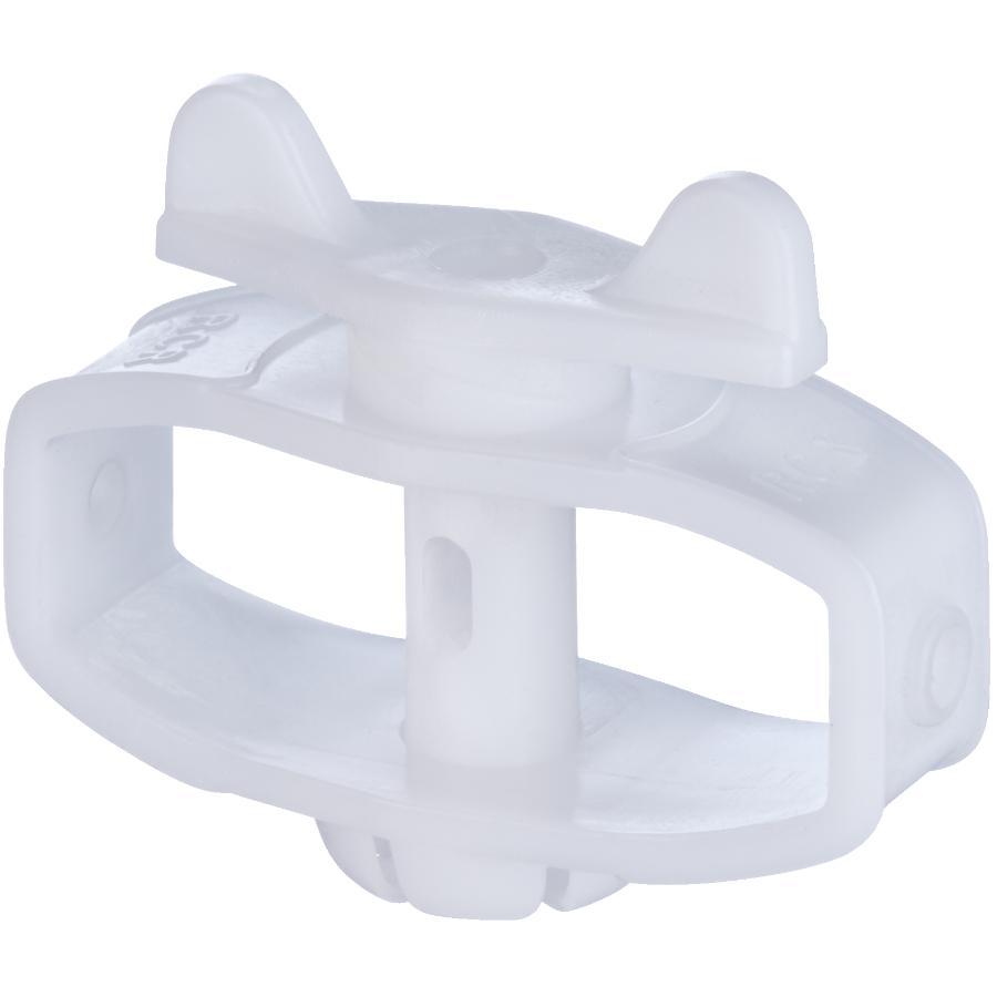 STRATA White Nylon Mini Winch Clothesline Tightener